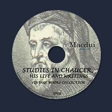 Studies in Chaucer, his life and writings (1892) Vintage E-Books 3 PDF on 1 DVD