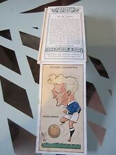 """PLAYER'S """" FOOTBALL CARICATURES BY MAC 1927"""" FULL SET [s]"""