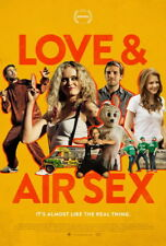 """001 Love and Air Sex - The Bounceback Comedy Romance USA Movie 24""""x35"""" Poster"""