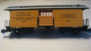 LGB # 128 Durango & Silverton BAGGAGE and express CAR ,used