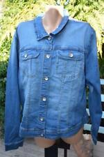 Katies Studio East BLUE DENIM JACKET NEW SIZE 26 RRP$89.95 Long Sleeve-Pockets