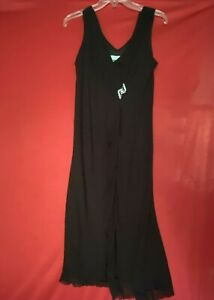 Another Thyme Sleeveless Dress Womens Sz 16 Black