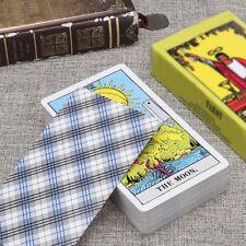78Pcs Set Rider Tarot Deck Cards Vintage Board Games Full English
