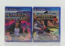 Shakedown Hawaii and Retro City Rampage DX (PS Vita)