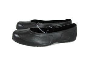 Safe T Step Black Rubber Over Shoe Covers New Men 9/10 Women 11/12