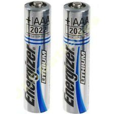 2 x AAA ENERGIZER Ultimate Lithium Batteries MN2400