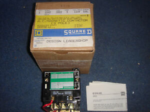 Square D 3 Pole AC Contactor Brand NEW Type SB02 10Kw 13.5 hp 380-415v 50Hz