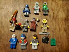 #6 Lego Minifigs Harry Potter Hermione Clown Robot Zombie Ghoul Accessories