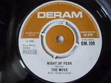 "THE MOVE ~ NIGHT OF FEAR ~ DM 109 ~ DERAM 1966 UK CLASSIC ROCK 7"" VINYL SINGLE"