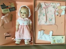 Tiny Tears Porcelain Collector Doll 1999 with case Great Condition by Mattel