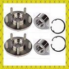 Rear Wheel Hub Bearing Wsnap Ring Honda S2000 2000-2009 Pair Fast Shipping