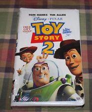 Toy Story 2 Disney Pixar  Tom Hanks  Tim Allen   VHS  New Sealed