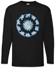 Iron Arc Reactor Hommes Manches Longues T-shirt Symbole Tony Sign Logo on fortement symbole