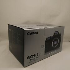 NUOVO Canon EOS 5D MARK IV 30.4MP DSLR Camera Corpo in STAK +3 anni di garanzia UK
