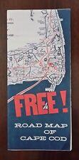 D21> Brochure Road Map of Cape Cod anno 1977