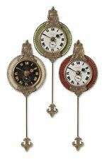 Monarch Wall Clock Set/3 by Uttermost #06046