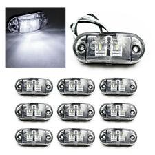 10x Led Side Marker Lights Piranha Outline Rear Trailer Truck Lorry 12v