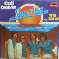 "7"" 1977 INCL. PROMO-SHEET MINT- ! SUNRISE : Call On Me"