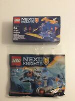 Lego Nexo Knights Motor Horse 30377 Polybag BNIP And Battle Station 6142154