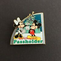 WDW Passholder Exclusive 2008 Mickey & Minnie at Magic Kingdom Disney Pin 60211