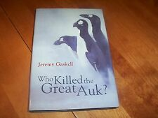 WHO KILLED THE GREAT AUK Arctic Bird Extinct Extinction Auks Birds Book NEW