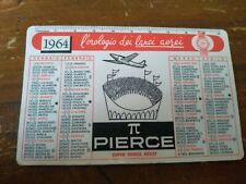 PIERCE 1964 ULTRA RARE CALENDAR CALENDRIER KALENDER CALENDARIO VINTAGE WATCH