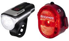 SIGMA LED Beleuchtungs Set Aura 80 / Nuggets ll schwarz, Fahrradlicht, StVO