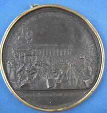 Medaille Eisenguss Eisen Louis XVI la Nation a Conquis son Roi arriveé a Paris