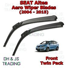 (06-15) Seat Altea XL Aero Wiper Blades / Front Windscreen Flat Blade Wipers