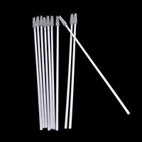 10pcs Stainless Steel Straw Reusable Washable Cleaner Cleaning Brush IJ