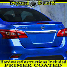 Fits 2013-2018 Nissan Sentra Factory Lip Style Spoiler Wing w/LED PRIMER