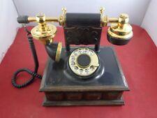 Deco-Tel American Telecommunications Vintage Rotary Dial Desk Telephone