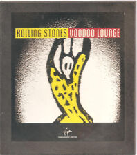 """Rolling STONES """"Voodoo Lounge"""" GIAPPONE PROMO BOX RARE"""