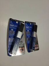Lot Of 2 Maybelline Ny Snapscara Mascara 330 Deja Blue Colored Mascara Sealed!