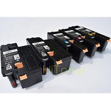 5 x New Toner Cartridges For Dell E525W Dell 593-BBJU 593-BBJV 593-BBJW 593-BBJX