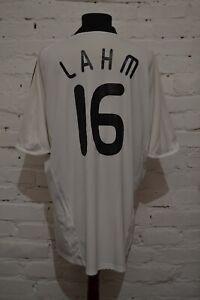 GERMANY 2008/2009 HOME FOOTBALL SOCCER SHIRT JERSEY TRIKOT #16 LAHM MENS 2XL