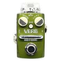 Hotone Skyline Series VERB Compact Digital Reverb Guitar Effects Pedal SRV-1