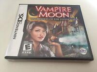 Vampire Moon: The Mystery of the Hidden Sun (Nintendo DS, 2010) NEW!