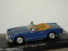 Maserati 3500GT Vignale Spider 1961 van Minichamps 1:43 in Box *24305