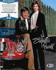 Robert Wagner & Stefanie Powers Original Autographed 8X10 photo w/Beckett COA 4