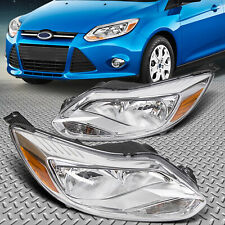 Fit 2012-2014 Ford Focus Headlights HeadLamp Assembly Light+Right Light 12 13 14