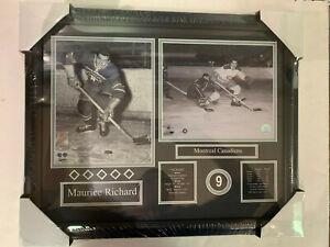 MAURICE RICHARD 16X20 FRAME - MONTREAL CANADIENS