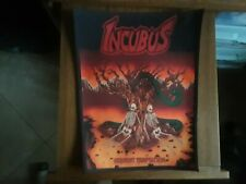 INCUBUS,SERPENT TEMPTATION,SEW ON SUBLIMATED LARGE BACK PATCH-