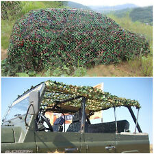 Camo Net Camouflage Netting Hunting Shooting Hide Army Woodland Truck shelter