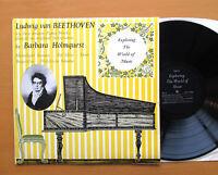 EXP 18 Beethoven Fortepiano Recital Barbara Holmquest ORYX Stereo Vinyl NM/EX
