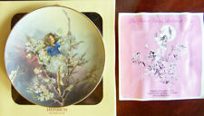 "Villeroy & Boch/Heinrich ""BLACKTHORN FAIRY"" Cicely M Barker Flower Fairies Plate"