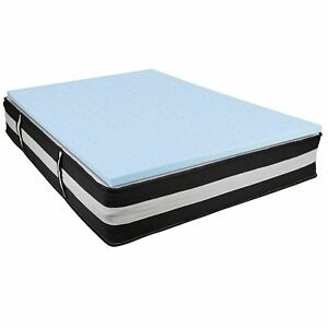 Capri Comfortable Sleep Full 12 Inch CertiPUR-US Certified Foam Pocket Spring...