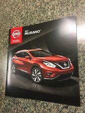 2017 NISSAN MURANO 16-page Original Sales Brochure
