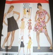 Simplicity  Pattern 3833 / 0645 Size 14-22 Vintage Retro 60's A-Line Dress UC