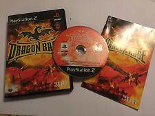 SONY PLAYSTATION 2 PS2 gioco Dragon RAGE + Scatola & Istruzioni COMPLETO PAL